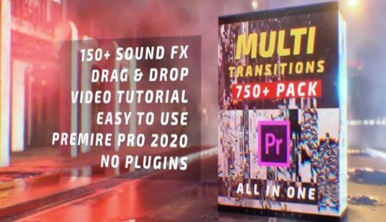 Motionarray Multi Transitions Pack 750+ 745934 + Music Free Download