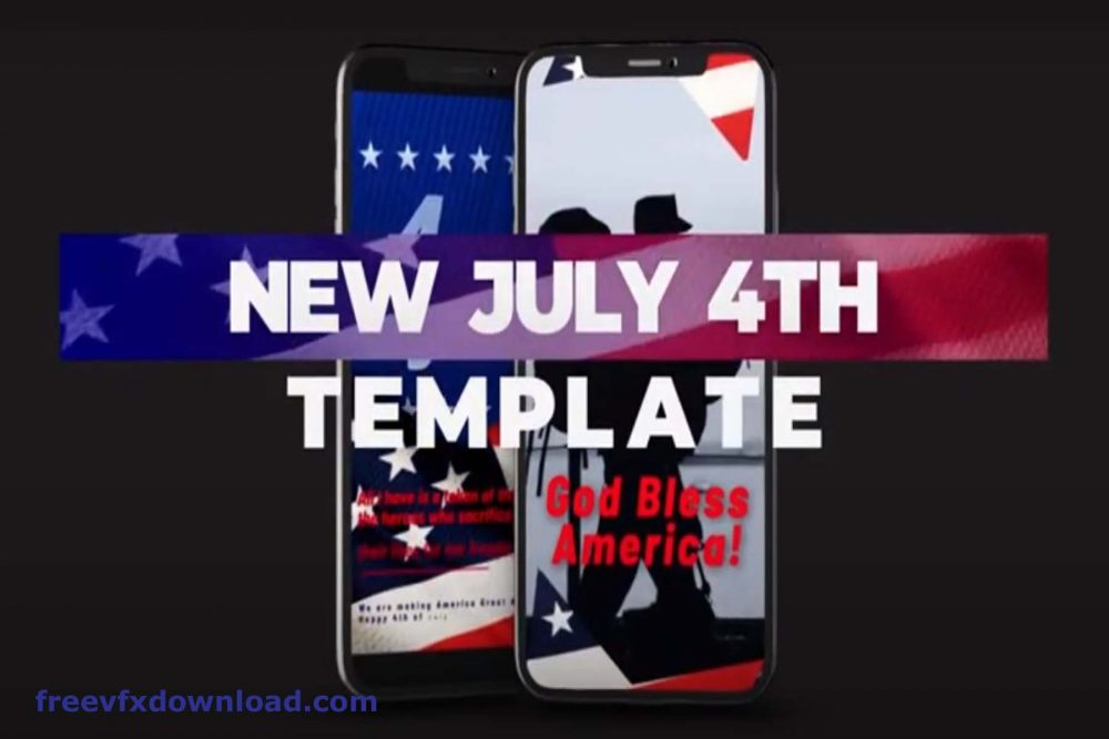 Free Download Template Patriot Day 4th of July Independence Day– After Effects Project Files – 27167116 Videohive .