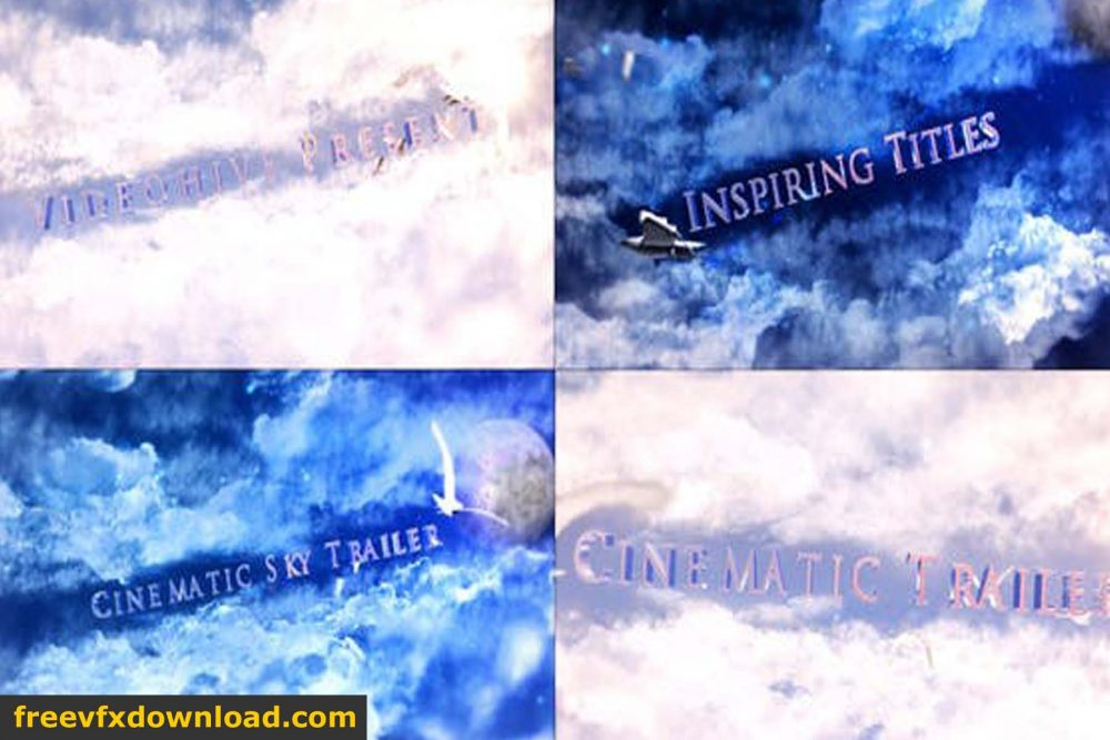 Cinematic Sky Titles Free Download Videohive-27834997