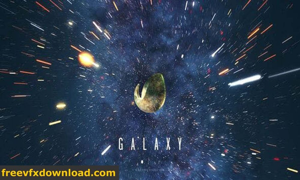 Videohive 26836535 Galaxy Space Logo Reveal After Effects Templates