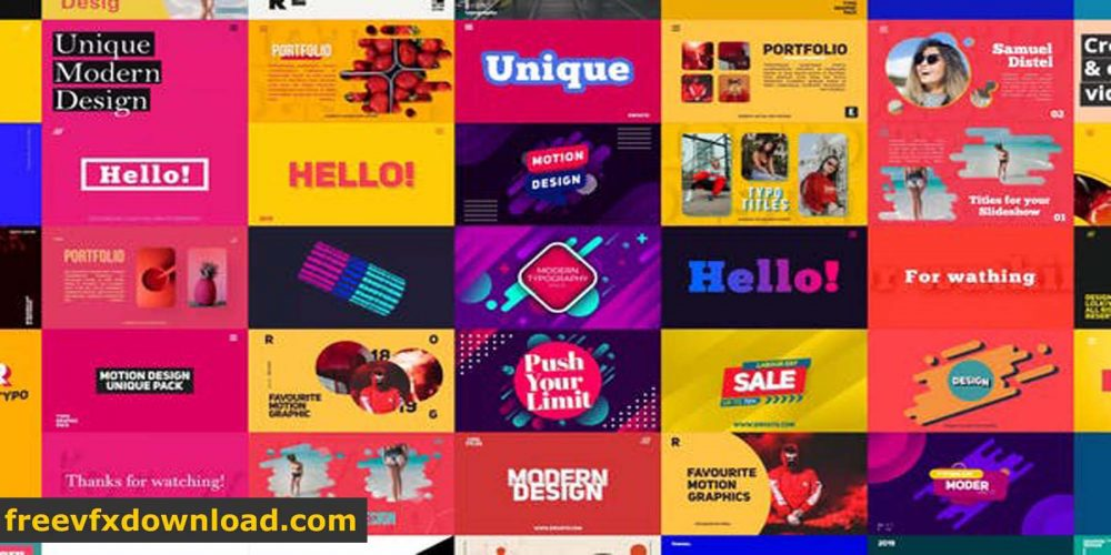 Videohive Big Typography Titles Pack 24830349 After Effects Templates