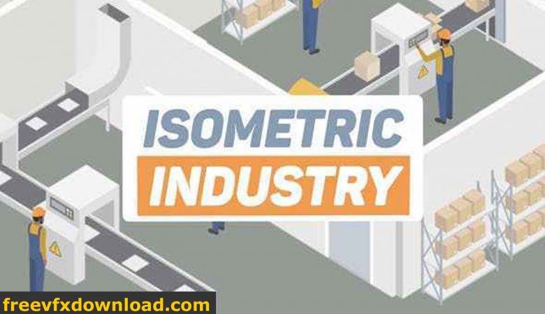 Videohive Isometric Industry 24401244 Free Download After Effects Templates