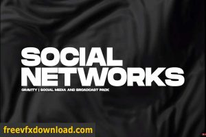 Videohive Gravity   Social Media and Broadcast Pack 26414068 Free Download
