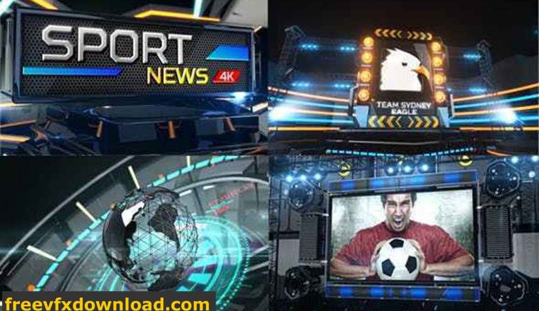 Broadcast Sport News Videohive-11686032 Free Download