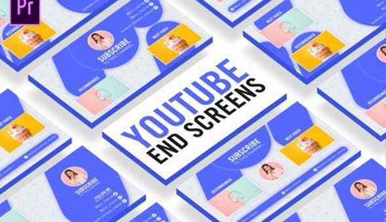 Clean Youtube End Screens Videohive-27066798