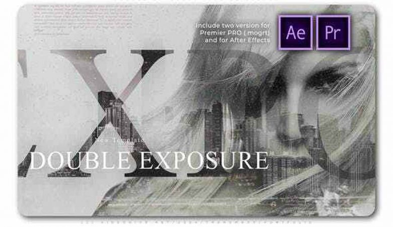 Videohive Double Exposure Inks Slideshow 27934081 Free Download