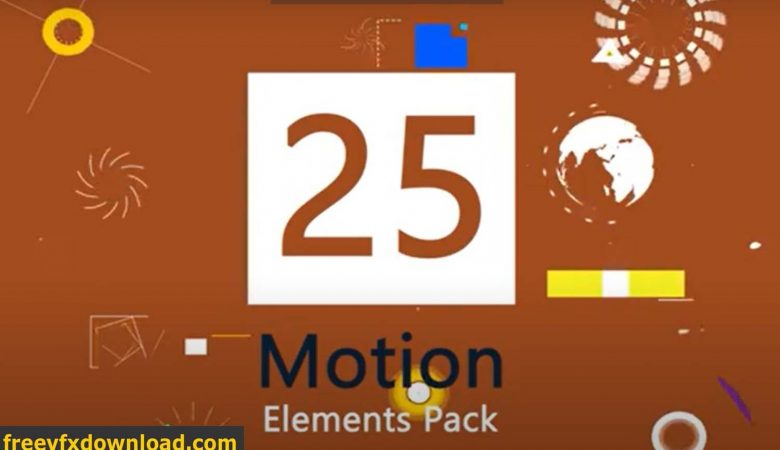Motion Graphic Element Pack