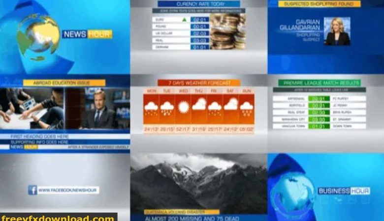 Videohive News Package