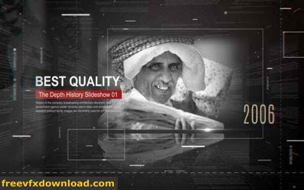 Videohive 21540616 The Depth History Slideshow Free Download