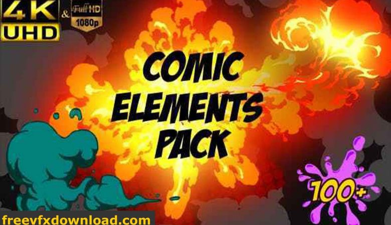 Videohive Comic Element Pack