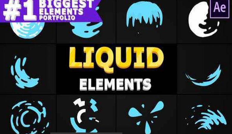 After Effects Liquid Circles Videohive -28475653