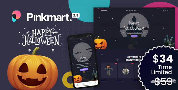 Pinkmart - AJAX theme for WooCommerce [themeforest-24735635] Download