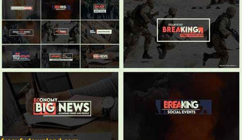 Videohive-27552200 News Text Titles Version 0.1