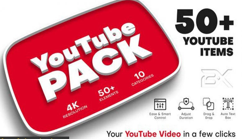 Videohive-27539966 YouTube Pack