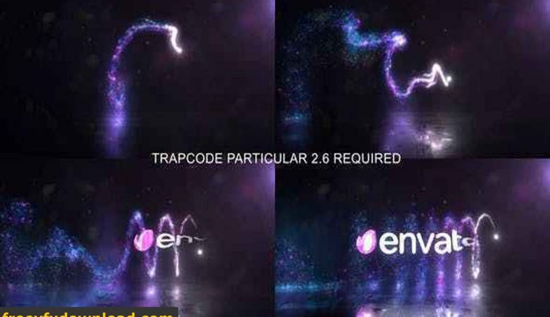 Videohive-24162675 Glowing Particals Logo Reveal 33