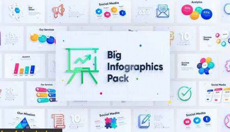 Videohive-28328007Corporate Infographics Charts Pack