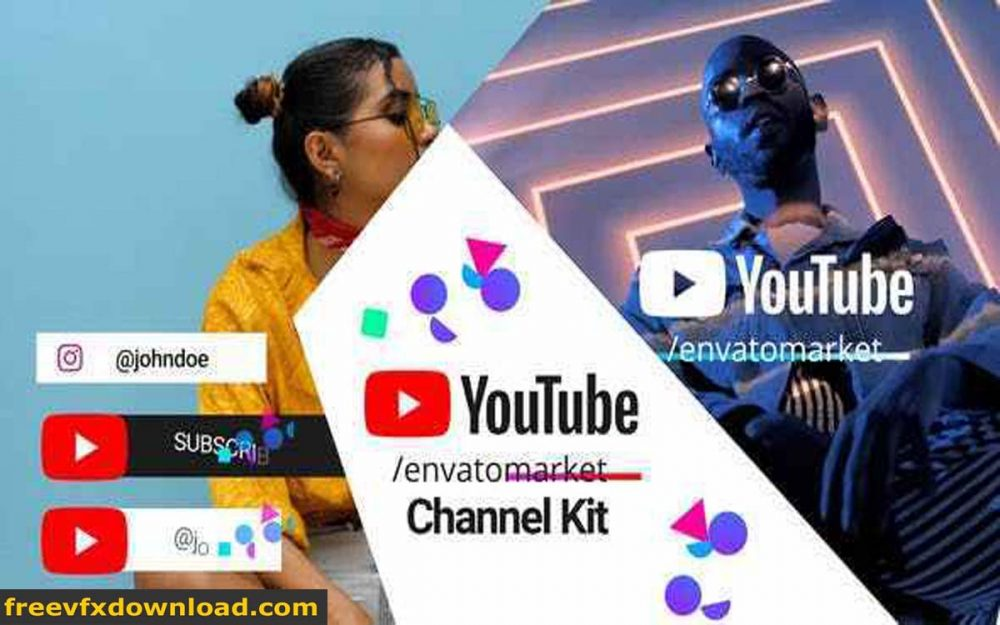 Videohive-28403530 Youtube Channel Kit