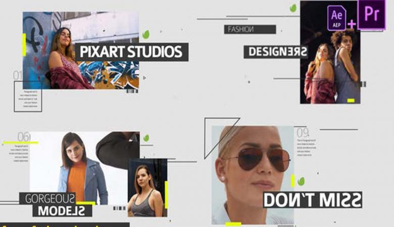 Videohive-28207458 Fashion Media Opener Mogrt
