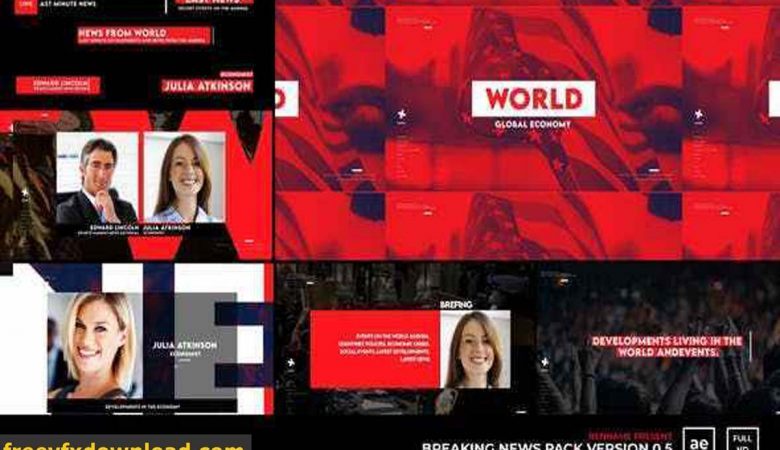 Videohive-27929468 Breaking News Pack V 0.5