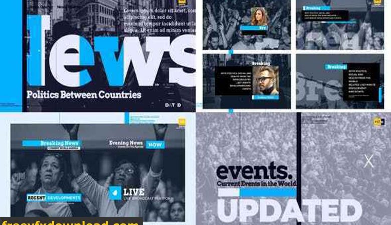 Videohive-27096559 Breaking News Pack