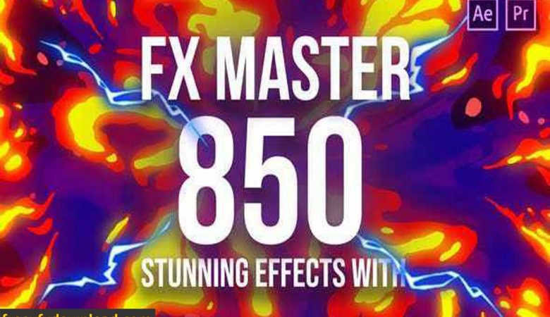 Videohive-26021811 FX Master – Cartoon Action Elements (Update 27 April 20)