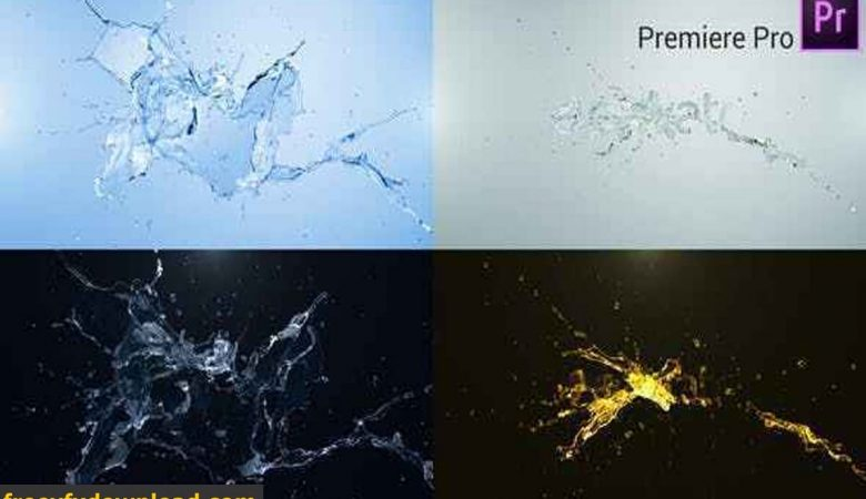 Videohive-27440390 Water Splash Logo Reveal Premiere Pro