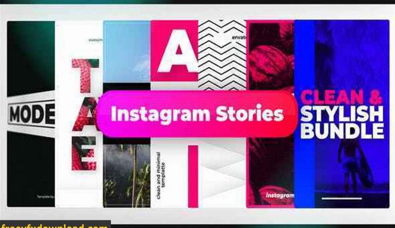 Videohive Stylish Instagram Stories 22118903