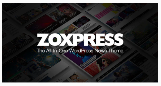 themeforest-25586170 Download ZoxPress - The All-In-One WordPress News Theme