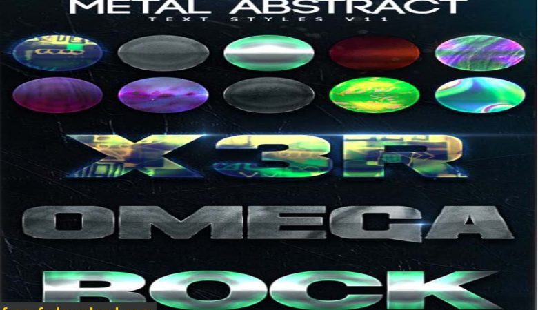 GraphicRiver Metal Abstract Text Styles V11
