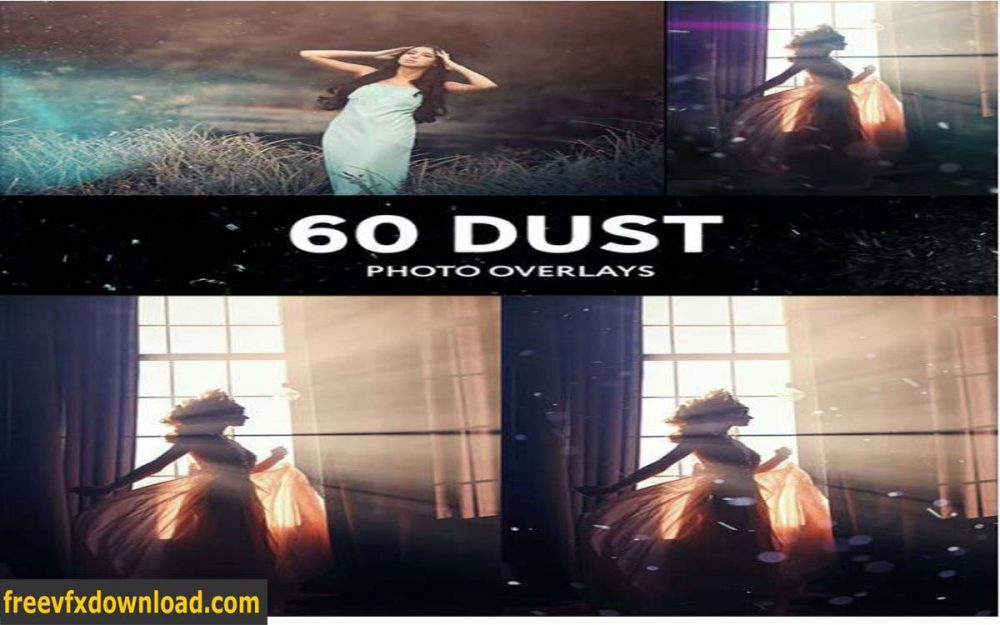 GraphicRiver 60 Floating Dust Photo Overlays