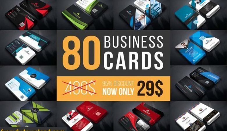 CreativeMarket Business Cards Mega Bundle By Curve Design
