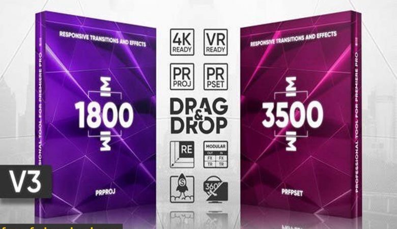 Videohive Transitions Presets Pack v3 22452399
