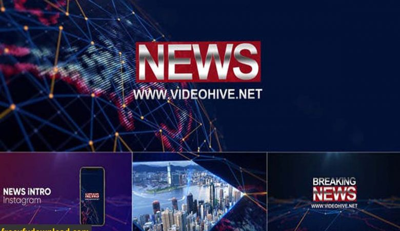 Videohive-25223884 Broadcast Design-News Package
