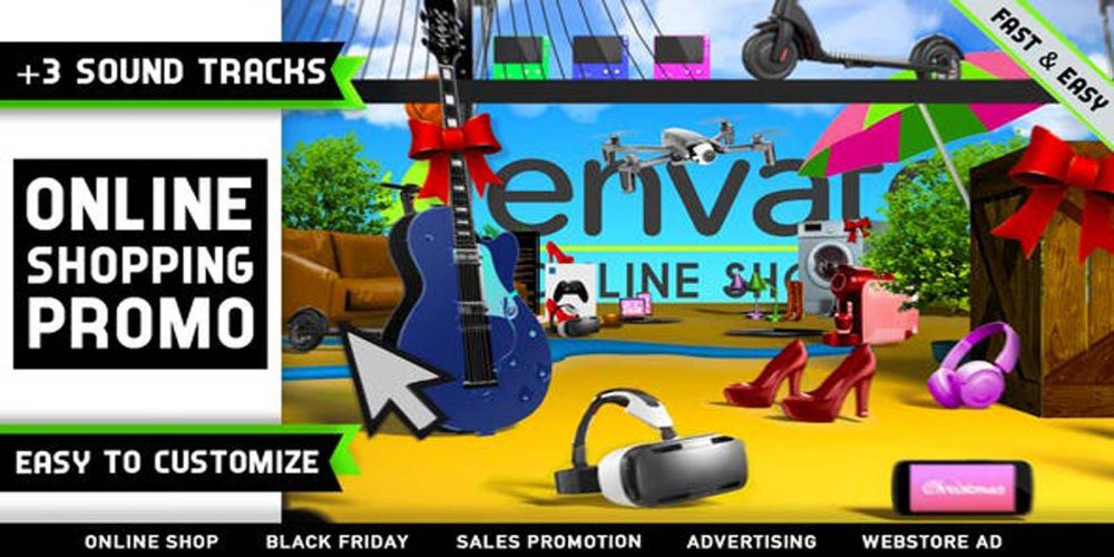 Online Shopping Store Promo Videohive 27540407 Download
