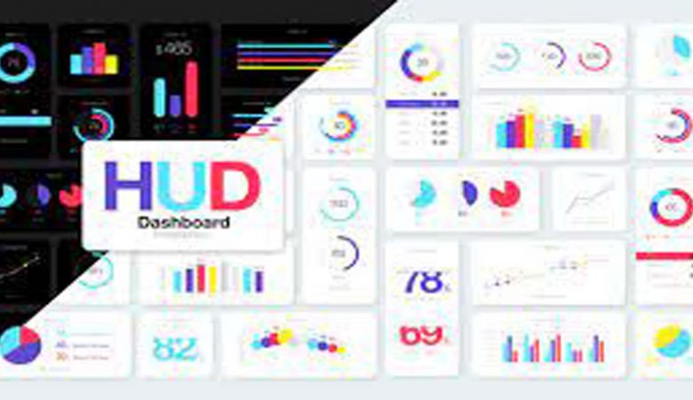 HUD Dashboard Infographics Essential Graphics for Premiere Pro Videohive 31652530