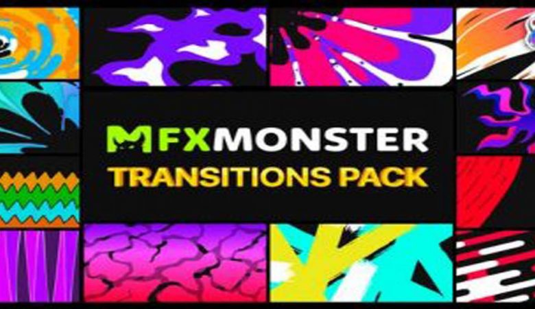 Handy Colorful Transitions FCPX Videohive 31979920