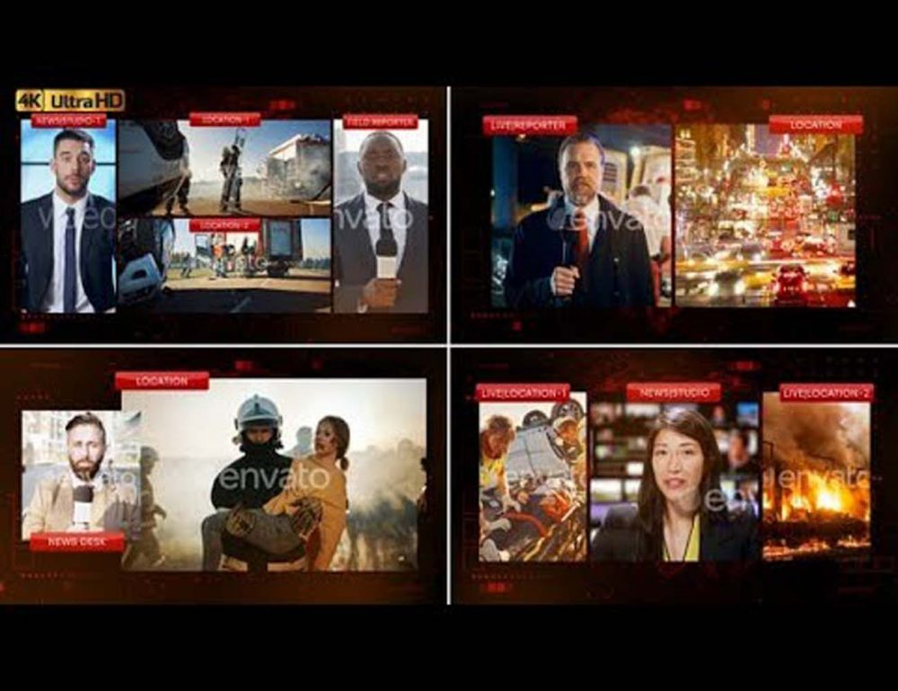 Multi Screen Setup for News Videohive 31822636