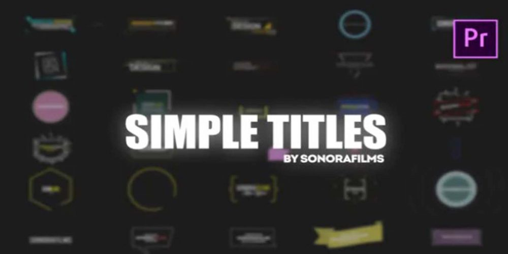 Simple Titles For Premiere Videohive 32202271