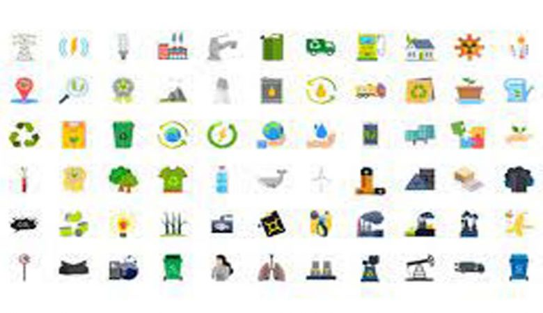 100 Ecology & Pollution Icons Videohive 32280155