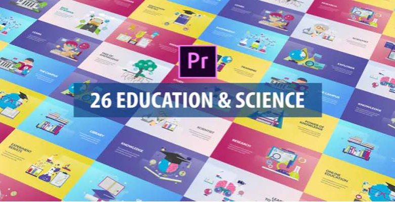 Education and Science Animation DaVinci Resolve Videohive 32515495