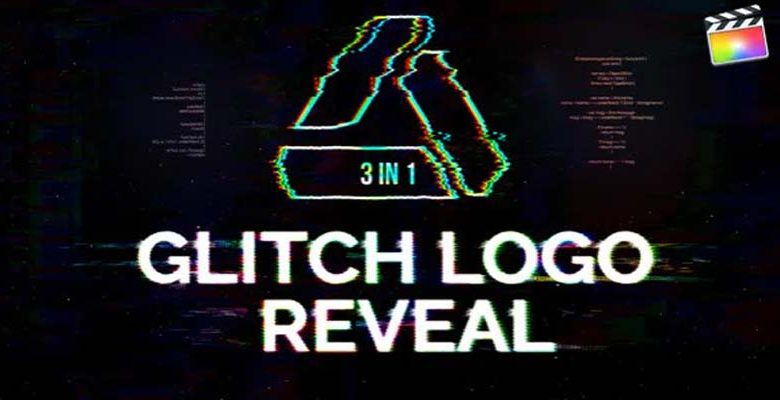 Glitch Logo Reveal For Final Cut & Apple Motion Videohive 32794232