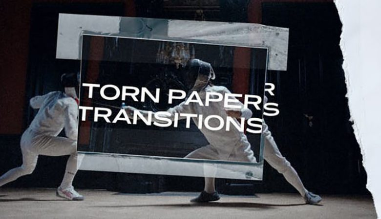 Torn Paper Transitions Videohive 33489603