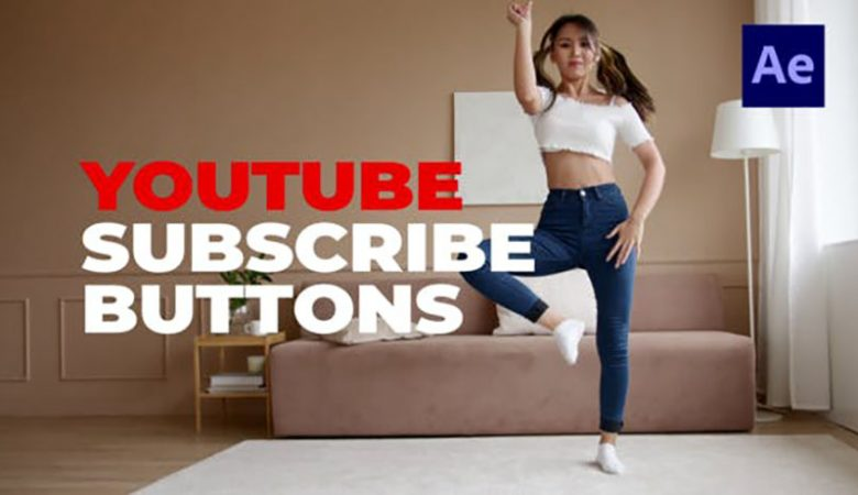 Youtube Subscribe Buttons Videohive 33123975