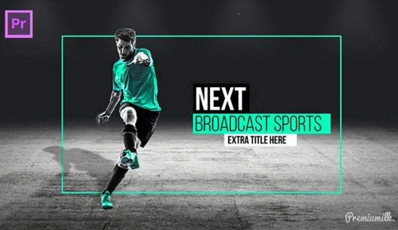 Broadcast Sports Pack Essential Graphics Mogrt