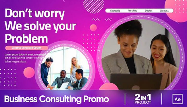Corporate Business Consulting Promo