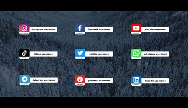 Social Media Lower Thirds For FCPX