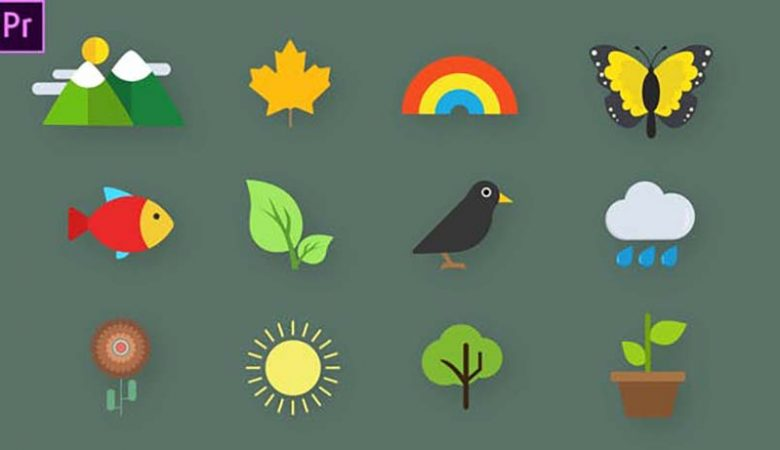 Nature Animated Icons