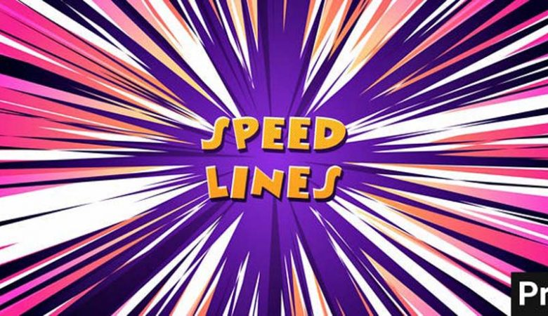 Speed Lines Backgrounds Essential Graphics Videohive 32632043
